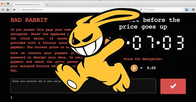 Beware the Bad Rabbit (Ransomware)