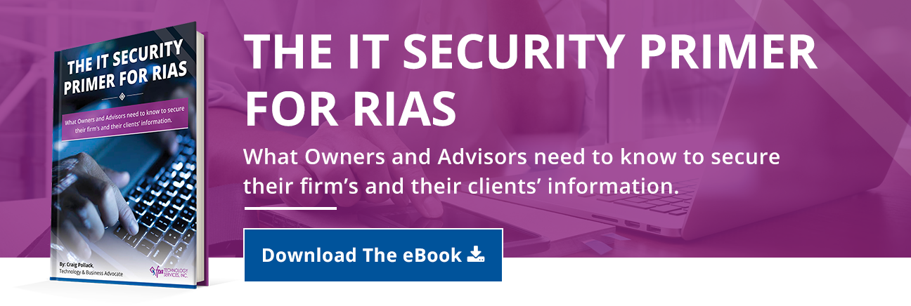 The IT Security Primer For RIAs eBook